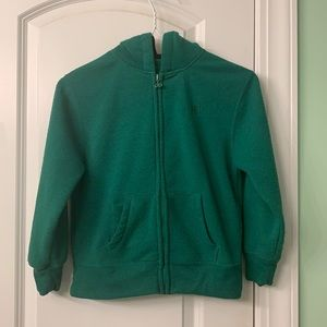 Size 6/7 hoodie with pockets/zipper $4